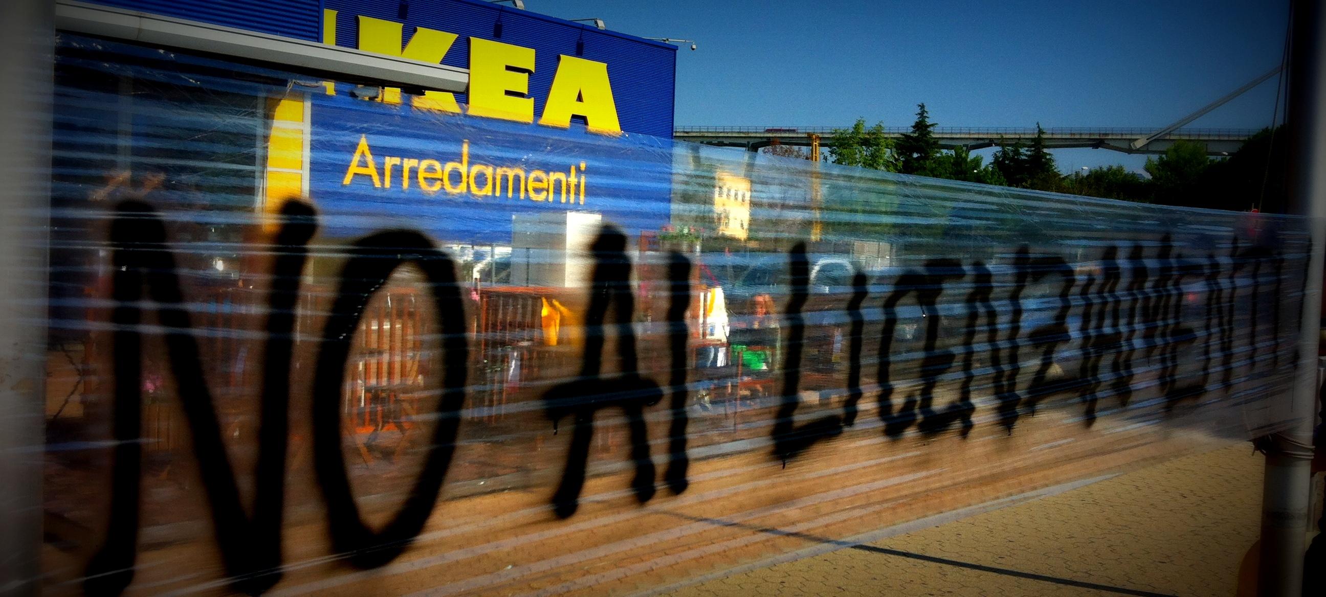 Sabato 24 Maggio Ore 1600 Presidio All Ikea Di Carugate Csa