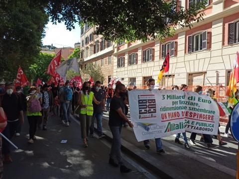 corteo 21 maggio roma